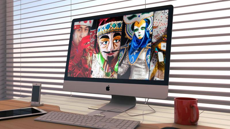 diseno web retratos del carnaval cajamarca